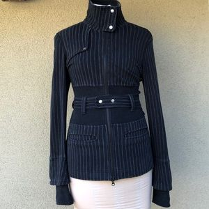 Lululemon striped athletic jacket